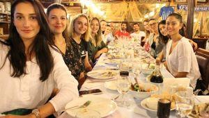 Sarıyer'de sezon açılış yemeği düzenlendi