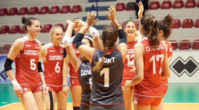 U19 Bayan Milliler, Sırbistan'ı 3-1 Mağlup Etti