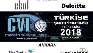 CVL Kurumlararası Voleybol Turnuvası Programı Belli Oldu