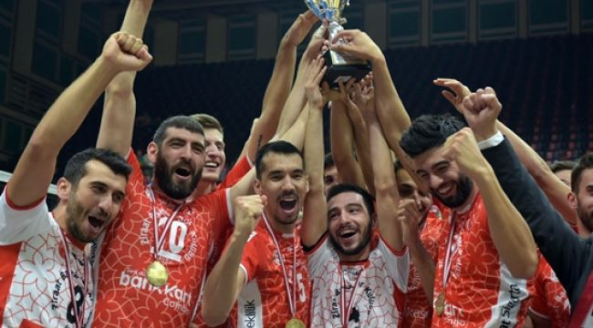 Ziraat, Namağlup Balkan Kupası Şampiyonu !