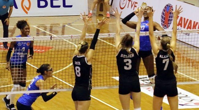 Aydın BBSK ve Beşiktaş, CEV Challenge Kupası'nda Karşılaştı