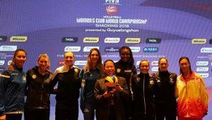 Eczacıbaşı Dünya Kulüpler Şampiyonasına Hazır