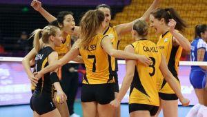 VakıfBank, Maritza Plovdiv'i 3-0 Mağlup Etti