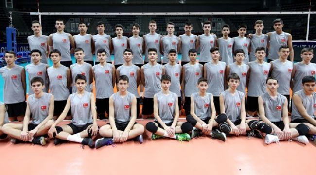 U17 Erkek Milli Takım Gelişim Kampı Ankara'da Başladı