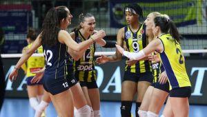 Fenerbahçe CEV kupasında yarı finalde!