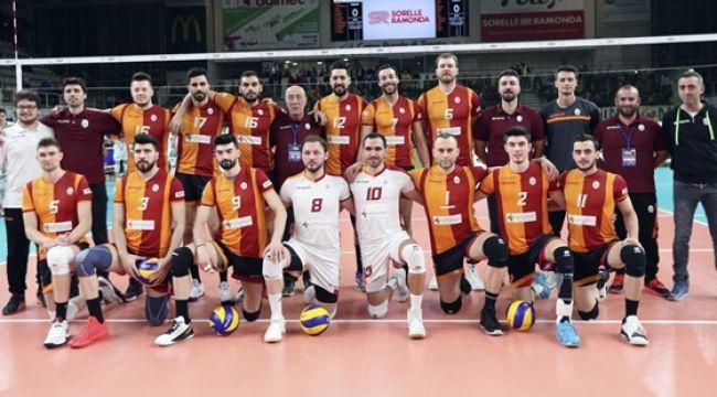 Galatasaray, İlk Maçında Trentino Itas'a 3-0 Mağlup Oldu