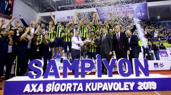 Kupa Voley'de Madalya, Kupa ve Ödüller Sahiplerini Buldu