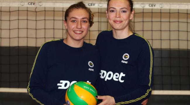 Eda ve Sıla'dan Imoco Volley maçı öncesi açıklamalar