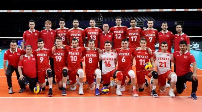 Erkek Milliler Avrupa Altın Ligi'nde 2'de 2 Yaptı