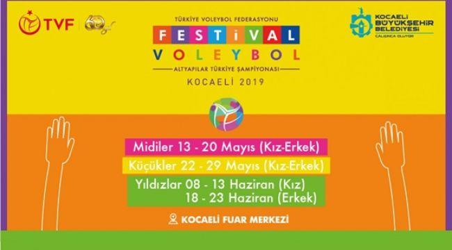 Festival Voleybol Seminer Programlarının Takvimi Belli Oldu