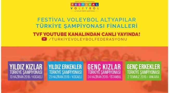 Altyapılar Türkiye Şampiyonası Finalleri Canlı Yayınlanacak