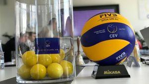 CEV Kupası ve Challenge Kupası'nda Rakiplerimiz Belli Oldu