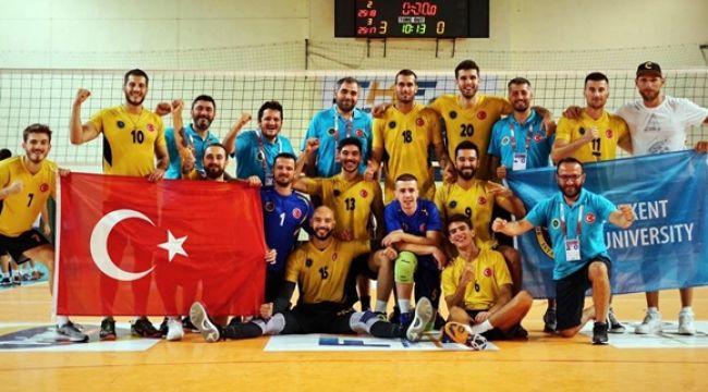 Beykent Çeyrek Finalde!