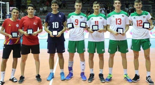 Hilmi Şahin, U17 Balkan Şampiyonası'nda Rüya Takım'da