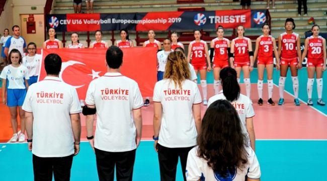 U16 Milliler, Avrupa Şampiyonası'na Galibiyetle Başladı