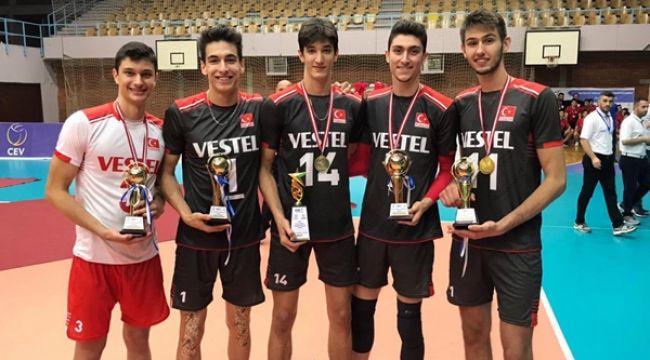 U18 Balkan Şampiyonası'nda Millilerimize 5 Ödül