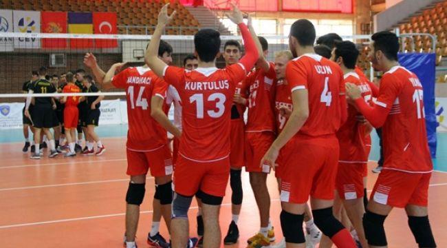 U18 Milliler, Balkan Şampiyonası'nda 3'de 3 Yaptı