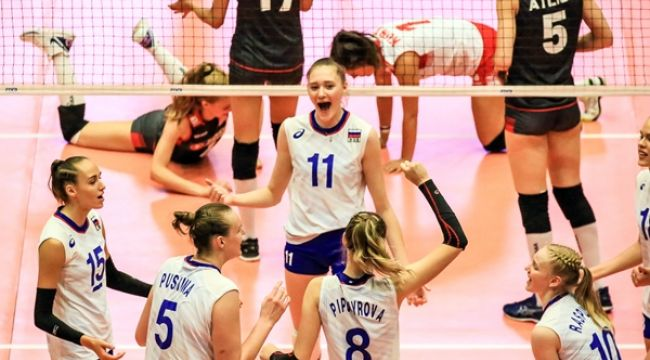 U20 Gençler, Rusya'ya Mağlup Oldu