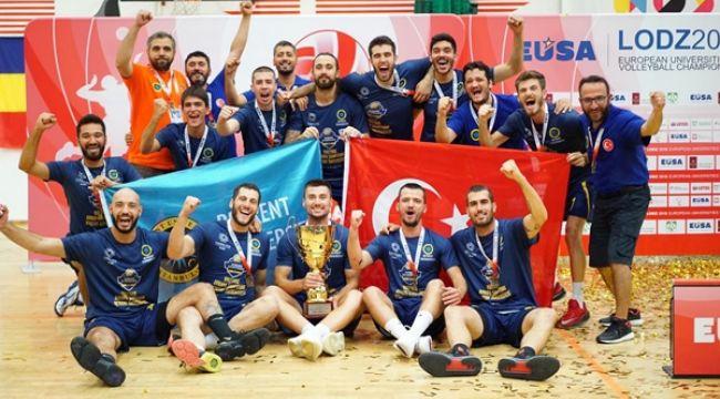 Beykent Üniversitesi Avrupa Şampiyonu Oldu