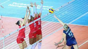 Kadınlar Avrupa Şampiyonası A Grubu'nda 2 Maç Oynandı