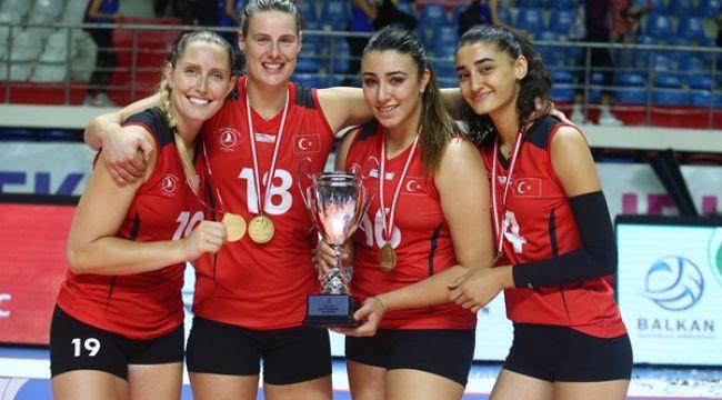 THY, Namağlup Balkan Kupası Şampiyonu !