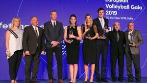 CEV'den TVF ve Neslihan Demir Güler'e Büyük Ödül