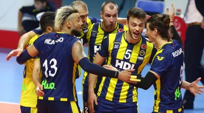 Fenerbahçe, Trentino'ya 3-2 Mağlup Oldu