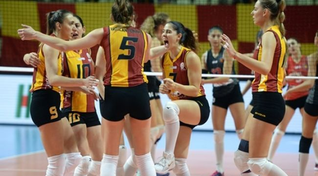 Galatasaray, Yeşilyurt'a set vermedi