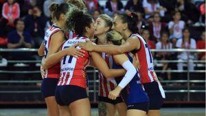 Antalya, Nevşehir'e set verdi, maç vermedi