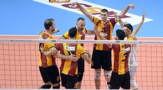 Galatasaray, CEV Kupası'nda Çeyrek Finale Yükseldi
