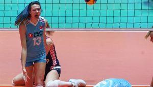 Olimpiyat Elemeleri'nin En Değerli Oyuncusu Meryem Boz