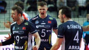 Arkas Spor, CEV Kupası'nda Çeyrek Finalde