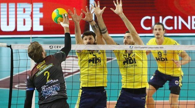Fenerbahçe, CEV Şampiyonlar Ligi'ne Veda Etti