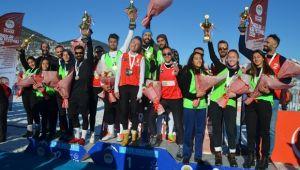 Kar Voleybolu Türkiye Şampiyonası Sona Erdi