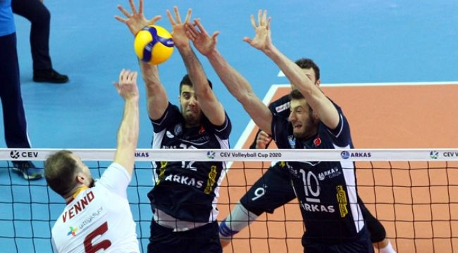 Galatasaray, CEV Kupası'nda Yarı Finalde
