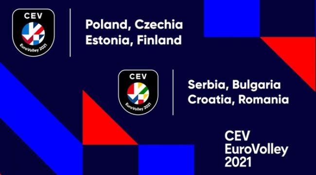 CEV EuroVolley 2021'in Logosu Tanıtıldı