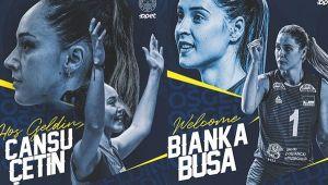 Fenerbahçe Cansu ve Bianka Buša'yı duyurdu