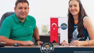Ayça İsmailçebioğlu Kalecik Belediyespor'da!