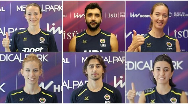 Fenerbahçe kontrolden geçti