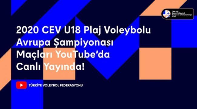 Avrupa Şampiyonası Final Maçları TVF YouTube'da