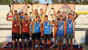 U18 Plaj Voleybolu Avrupa Şampiyonası Sona Erdi