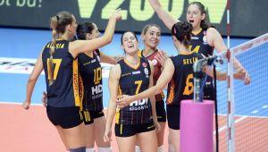 Galatasaray Başkent'ten mutlu döndü
