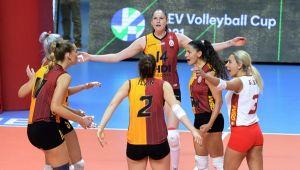 Galatasaray CEV Kupası'nda Son 16 Turu'na Yükseldi