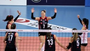 Kupa Voley'de THY, Sarıyer'e set vermedi