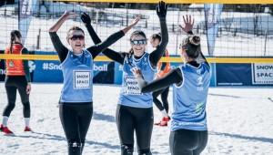 Kadın Kar Voleybolu Milli Takımımız Yarı Finalde