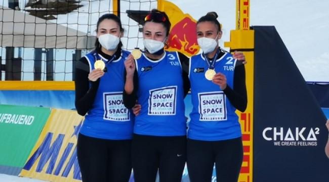 Kar Voleybolu Milli Takımımız Namağlup Şampiyon