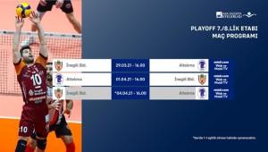 Efeler Ligi'nde Play-Off 7./8.lik Etabı Başlıyor