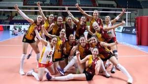 Galatasaray HDI Sigorta Cev Kupası'nda Finalde