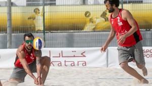 Murat ve Volkan İkilisi, Katara Kupası'na Veda Etti