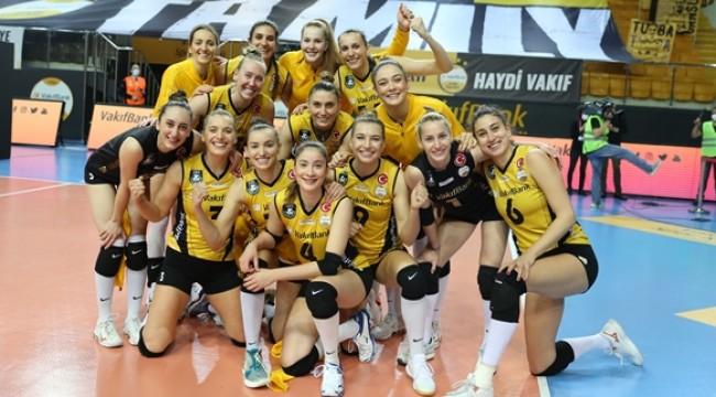 VakıfBank, Şampiyonlar Ligi'nde Yarı Finalde (foto)